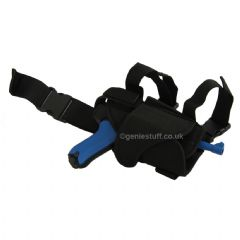 Adjustable, Black Leg Holster for Airsoft Pistols